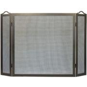 folding fireplace screen