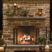 Astria Plantation Fireplace