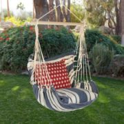 Striped Swing Chair