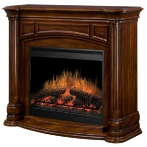 belvedere electric fireplace