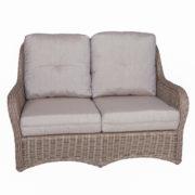 Natchez Love Seat, Front