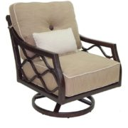 Villa Bianca Swivel Rocker
