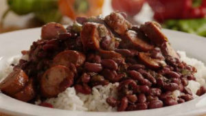 Red Beans, Rice & Pork Tenderloin