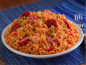 SMOKED CHICKEN & SAUSAGE JAMBALAYA