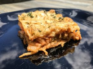 Wood Fired Lasagna