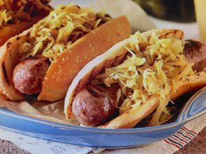 Beer Steamed Bratwurst