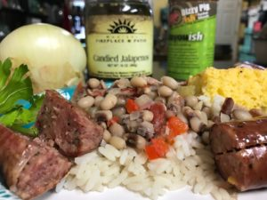Iron Pot Hoppin' John