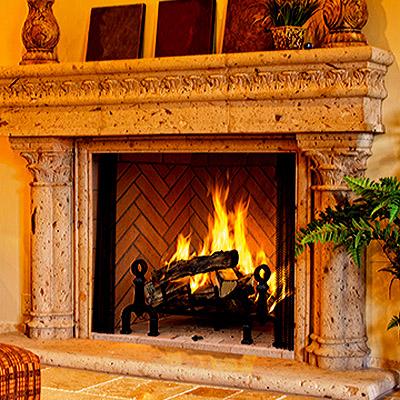 Georgian Wood Burning Fireplace By Astria Madison