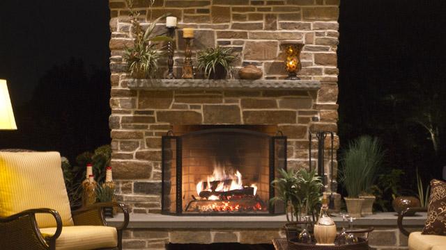 Plantation Wood Burning Fireplace By Astria Madison