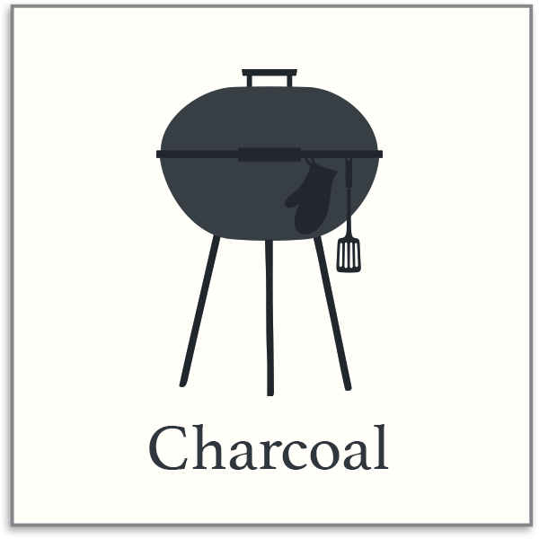 Charcoal and Pellet