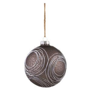 Swirl Glass Ball