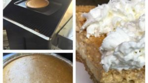 Pumpkin Two Layer Cheese Cake Pie