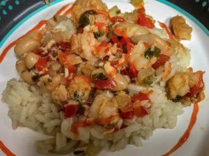 Shrimp & White Bean Chili