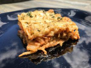 Wood Fired Lasagna