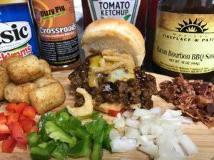 Bacon BBQ Meatloaf Sandwich