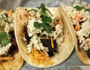 Brisket Burnt End Tacos