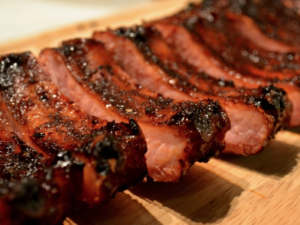 Honey Rum Glazed Ribs