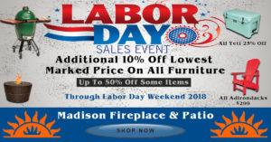 Labor Day Sale 2018